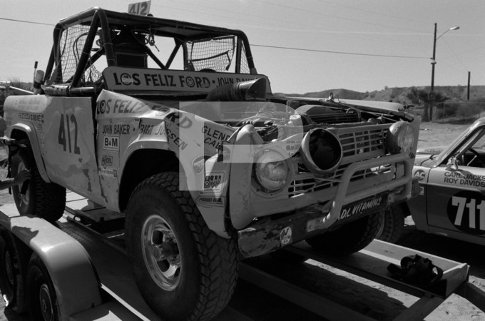 1975 SCORE Southern California Off Road Enthusiasts AC Delco Parker 400 Off Road Race - Arizona and California