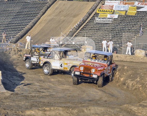 1980 Southern California Off Road Enthusiasts Mickey Thompson Off Road Stadium Race - Los Angeles Coliseum