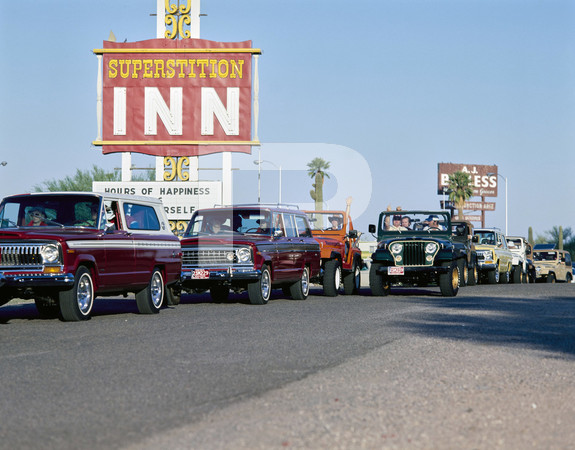 1977 Jeep Supernationals - Superstition Inn - Apache Junction Arizona