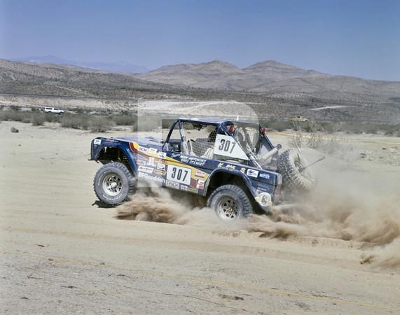 1986 SCORE Frontier 500 Off-Road Race - Las Vegas Desert Course - Nevada