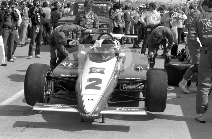 1984 USAC - United States Auto Club Gold Crown Championship - CART - Championship Auto Racing Teams - PPG Paints Indy Car World Series 68th Annual 500 Mile Race