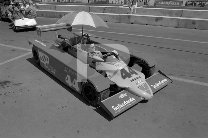 1984 FIA - Federation Internationale de lAutomobile Formula 1 Strohs Dallas Grand Prix - July 8th - Fair Park Dallas Texas Temporary Street Circuit