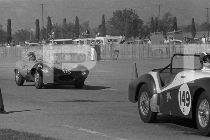 1958 7th Running Pomona Road Races - Los Angeles County Fairgrounds