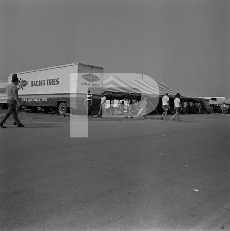 National Sponser - guy on mini-scooter -  vendor tents