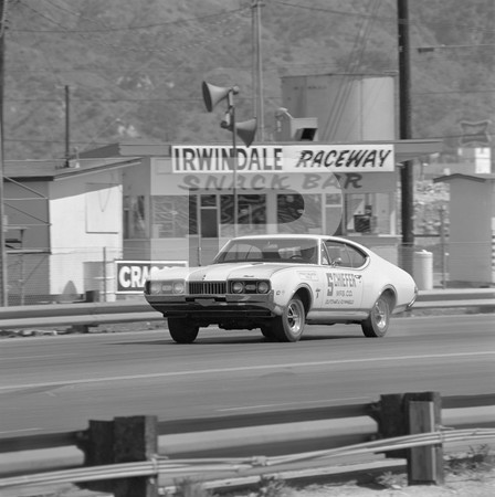 1968 Chevrolet El Camino SS Drag Test - Irwindale - Shelby Turbine