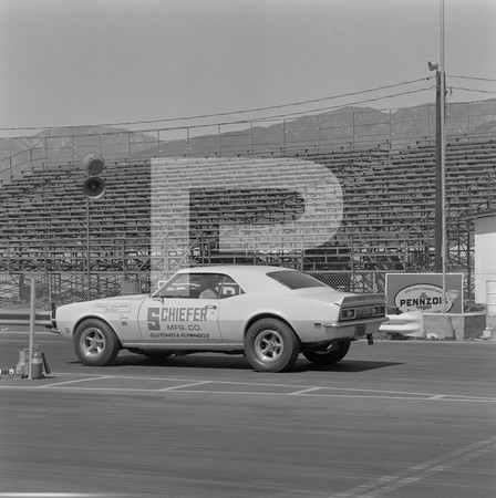 1968 Chevrolet El Camino SS Drag Test - Irwindale