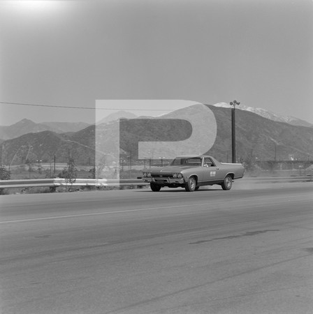 1968 Chevrolet El Camino SS Drag Test - Irwindale