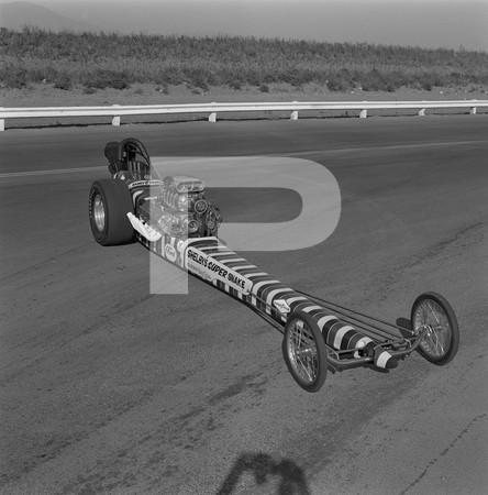 Lou Baney - Don Prudhomme  Shelby Super Snake Dragster