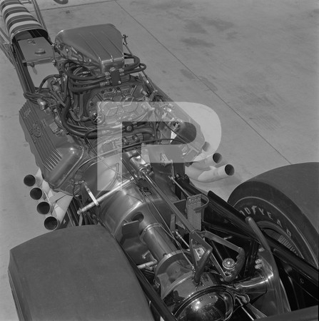 Lou Baney - Don Prudhomme  Shelby Super Snake Dragster
