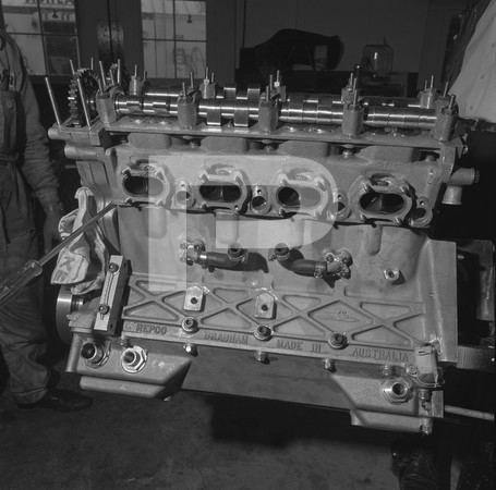Gurney-Westlake Engine on Stand