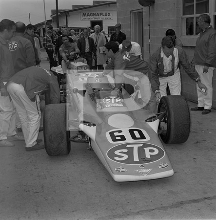 1968 52nd International 500 Mile Sweepstakes - Indianapolis 500 - Art Arfons Green Monster Jet Car