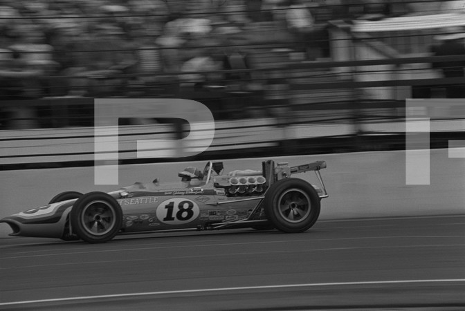 1968 52nd International 500 Mile Sweepstakes - Indianapolis 500