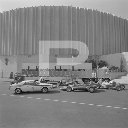 1968 Hot Rod Tour - Hot Rod Magazine Show - September