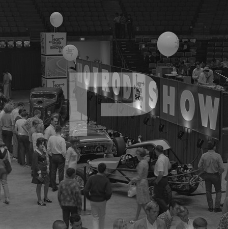 1968 Hot Rod Magazine Show - September