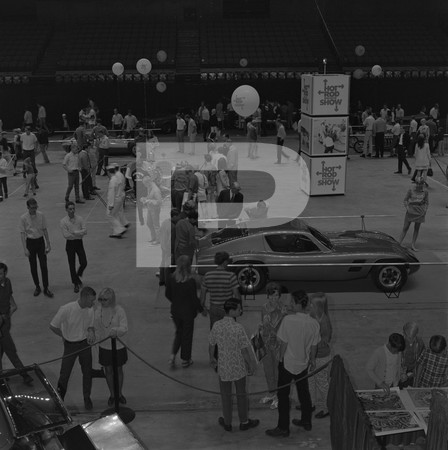 1968 Hot Rod Magazine Show - September