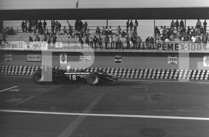 1968 Mexican Grand Prix - Ciudad Deportiva Magdalena Mixhuca - Formula One