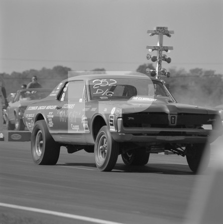 1968 NHRA World Finals Drag Racing - Tulsa