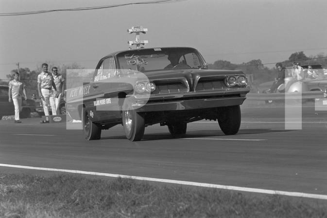 1968 NHRA World Finals Drag Racing - Tulsa