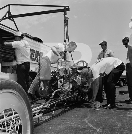1972 NHRA Springnationals - Dallas International Motor Speedway
