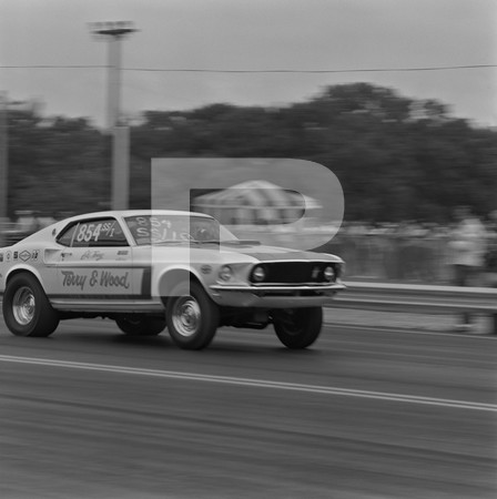 1980 NHRA Springnationals - Dallas International Motor Speedway