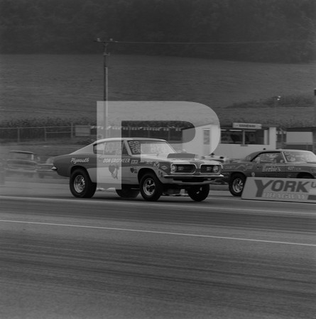 1969 Super Stock Nationals Drag Race - York US 30 Drag-O-Way