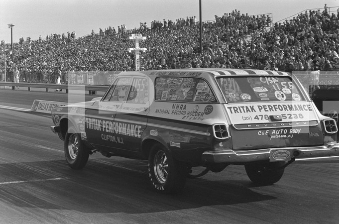 1969 NHRA Fifth Annual World Finals - Dallas International Speedway