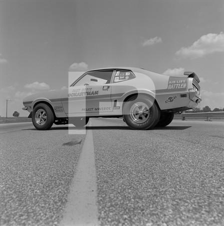1969 Super Stock Nationals - 428 Ford - Black Wood Charger - George Montgomery - Eddie Schartman