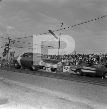 1969 Professional Drag Association - First Funny Car Nationals - Lions Drag Strip - Wilmington - California