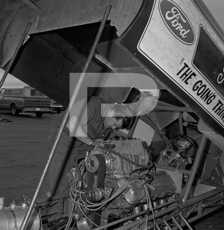 1969 Professional Drag Association - First Funny Car Nationals - Lions Drag Strip - Wilmington - California