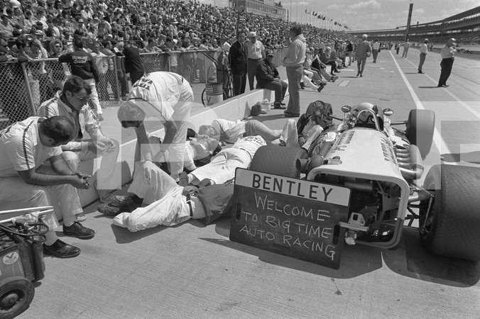 1970 54th Annual 500 Mile International Sweepstakes - Indianapolis qualifying