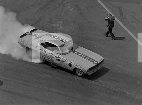 1970 NHRA Springnationals Top Gas Pro Stock Top Fuel Funny Car - Dallas International Motor Speedway