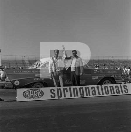 1970 NHRA Springnationals Top Gas Pro Stock Top Fuel Funny Car - Dallas International Motor Speedway