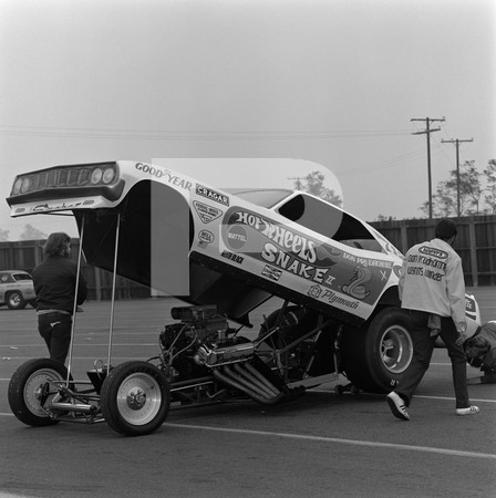 1971 Ford Pinto And Chevrolet Vega Funny Cars