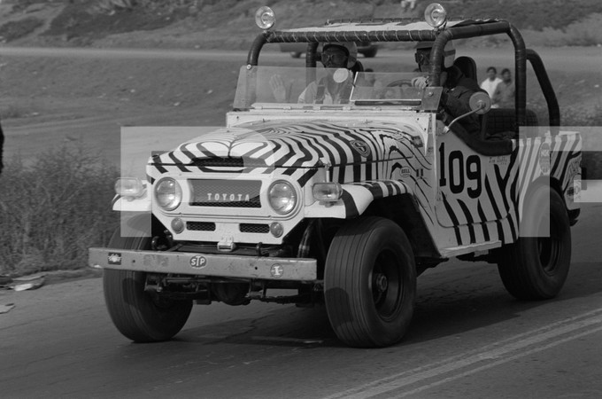 1970 4th Annual National Off Road Racing Association Mexican 1000