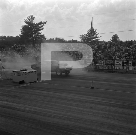 1970 AHRA Race - New England Dragway - Epping New Hampshire