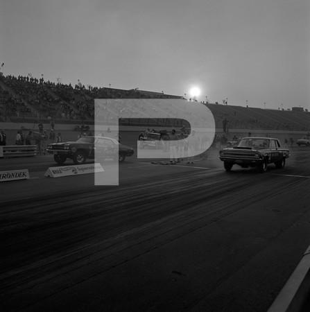 1970 NHRA Supernationals Top Fuel Funny Car Pro Stock - Ontario Motor Speedway