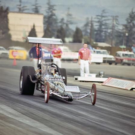1972 NHRA Winternationals Top Fuel Funny Car - Pomona