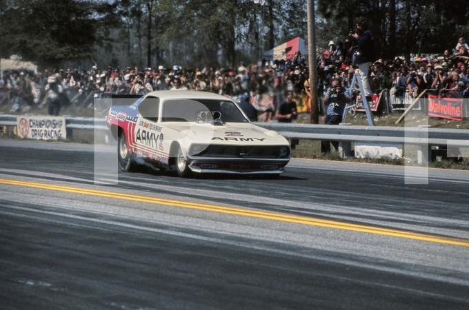 1974 NHRA Gatornationals - Gainesville Florida March 1974