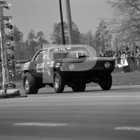 1971 NHRA 2nd Annual Gatornationals - Gainesville Raceway Florida