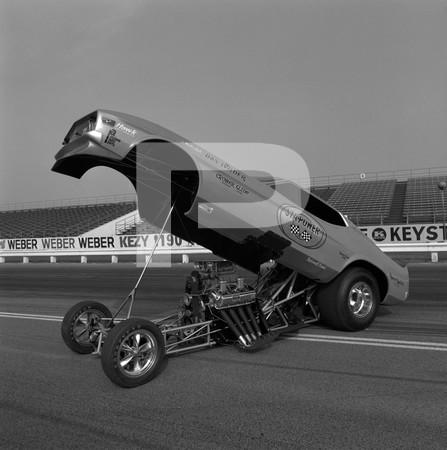 1972 Linda Vaughn Miss Hurst Golden Shifter - Orange County International Raceway Still Photos