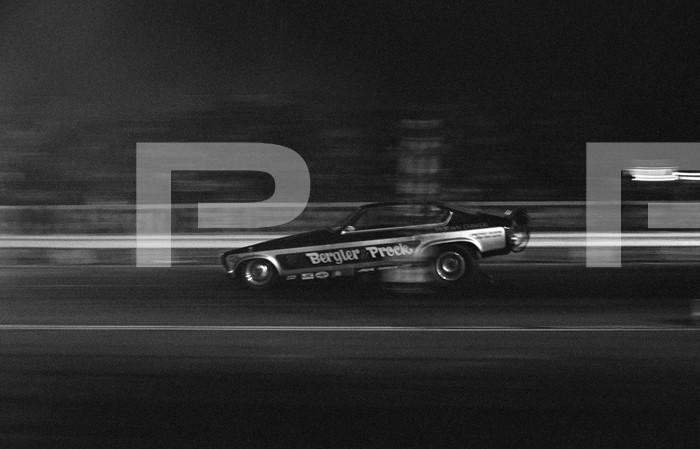 1971 NHRA Manufacturers Meet - Orange County International Raceway - Jeep V8 Test