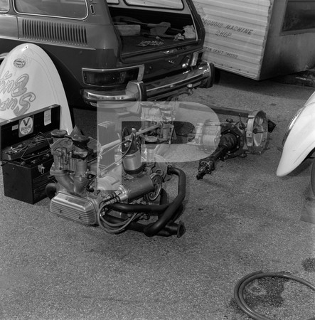 1972 NHRA Winternationals Pits Photos