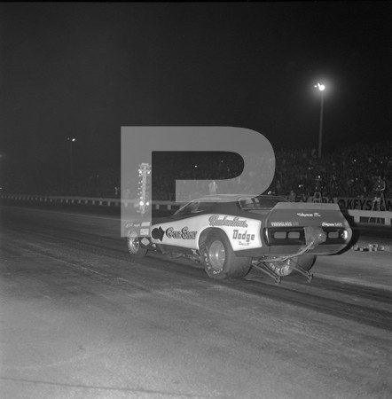 1972 Orange County Raceway Funny Car Revue - Chi Town Hustler Challenger Gene Snow Charger