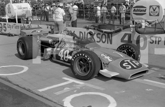 1971 USAC Indy Car California 500 - Ontario Motor Speedway