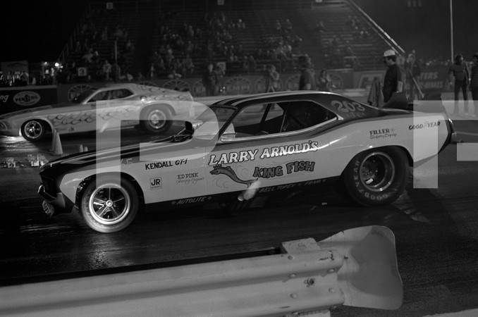 1971 NHRA Manufacturers Meet Funny Car - Orange County International Raceway
