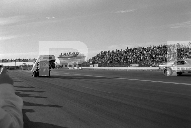 1971 NHRA 7th Annual World Finals - Amarillo Dragway Texas