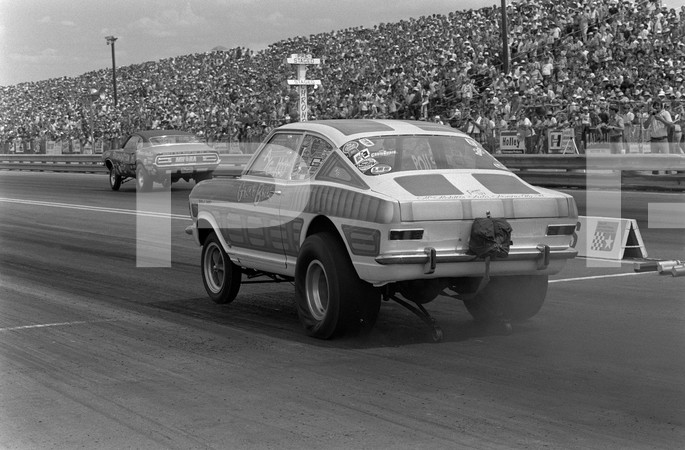 1971 NHRA Springnationals - Dallas International Motor Speedway Lewisville