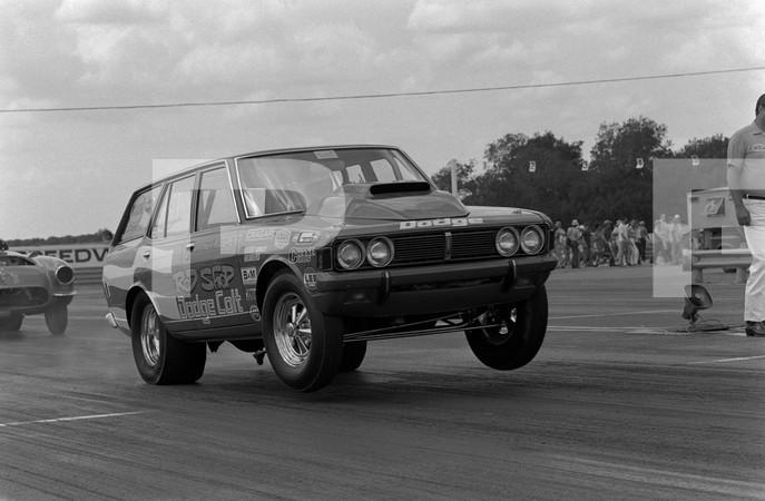 1971 NHRA Springnationals - Dallas International Motor Speedway Lewisville