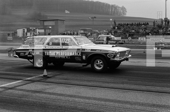 1971 NHRA Super Stock Nationals York 30 Dragway - Drive In USA New Jersey New York