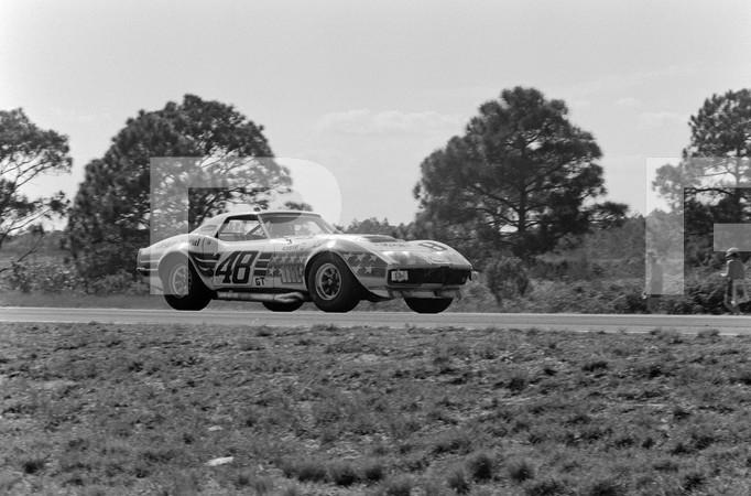 1972 FIA World Sports Car Championship 12 Hours of Sebring - Audi 100LS Test